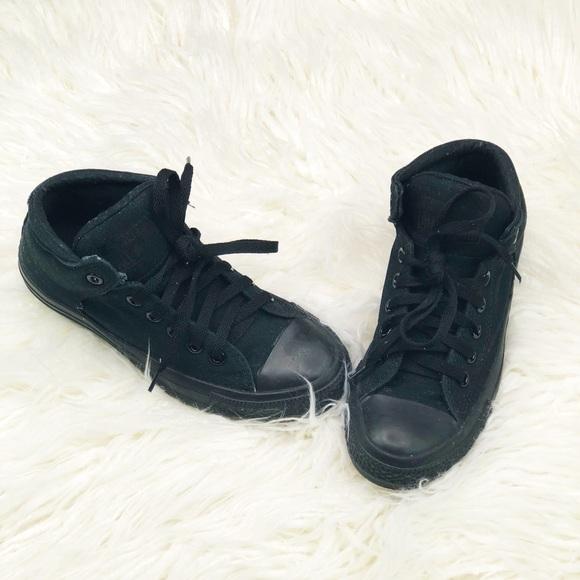 3105681c0455 Converse Shoes - Chuck Taylor All Star High Street Mono Canvas Hi